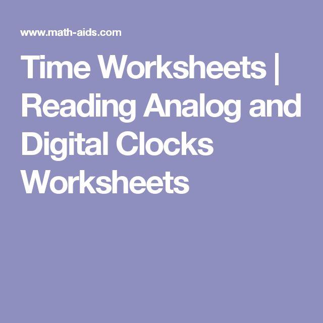 Best 25+ Clock worksheets ideas on Pinterest Telling time - time worksheets