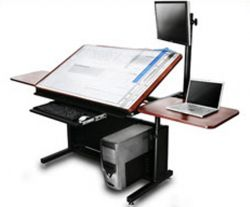 Etonnant Drafting Table Computer Desk Combo   Google Search | Rooms | Pinterest |  Desks, Small Office And Room.