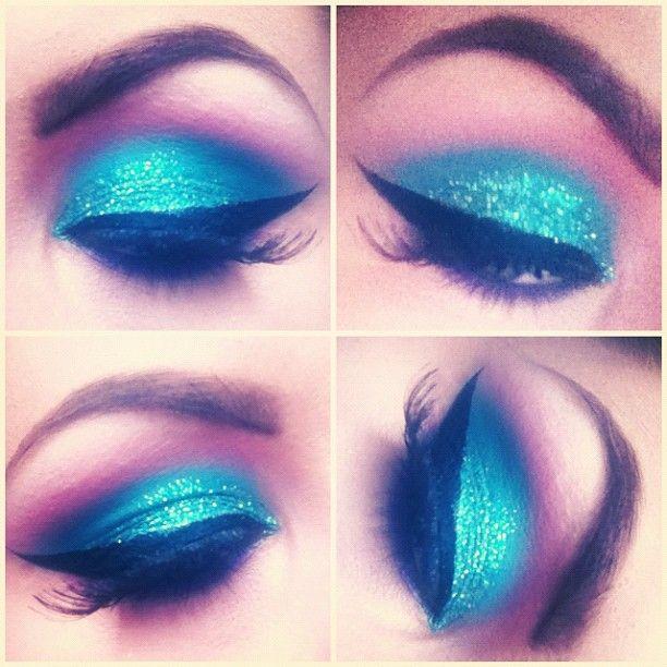 ... eyeshadows eye makeup glitter eyeshadow blue eyeshadow eyeshadow