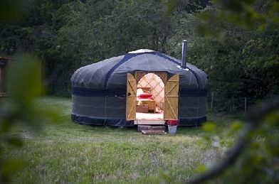 Glamping with Hot Tub in The Lake District at Drybeck farm
