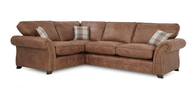 Goulding Right Hand Facing Formal Back Deluxe Corner Sofa Bed Oakland | DFS