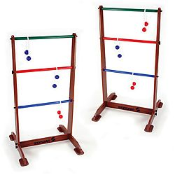 @Overstock.com - This Ladder Ball lawn game set from Sportcraft includes three blue and three red golf ball bolos. This lawn game can be enjoyed by children and adults everywhere.http://www.overstock.com/Sports-Toys/Sportcraft-Ladder-Ball-Lawn-Game-Set/5762988/product.html?CID=214117 $63.64
