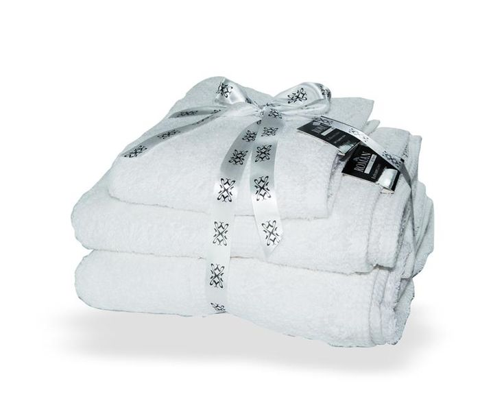 White Egyptian Cotton Towel Bale - PIN IT TO WIN IT Christmas 2015
