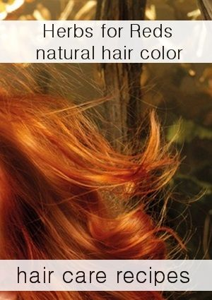 Homemade Hair Color Dye Recipes: How to color your hair naturally Red at home with herbs