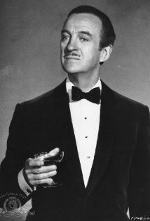 """David Niven ~ Once wrote that as a child, he felt superior to others. He attributed this to the fact that when reciting the Lord's Prayer in church, he thought for several years that the correct phrasing was, """"Our Father, who art a Niven . . . """" (IMDB)"""