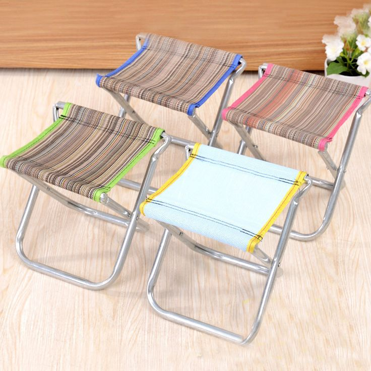 Outdoor Portable Foldable Fishing Chair Seat Light weight for Camping Picnic Barbecue Beach Chair Other Fishing Tools