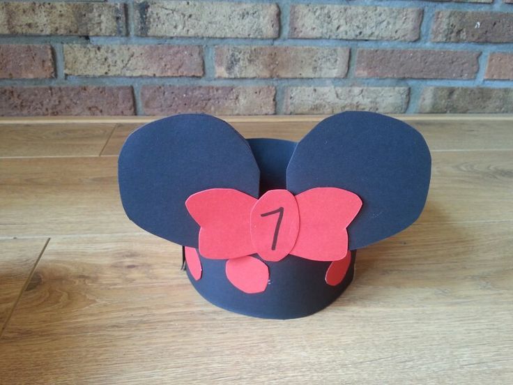 Feestmuts minnie mouse