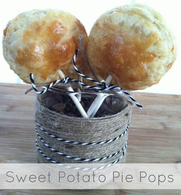 Sweet Potato Pie Pops | Recipes to try | Pinterest