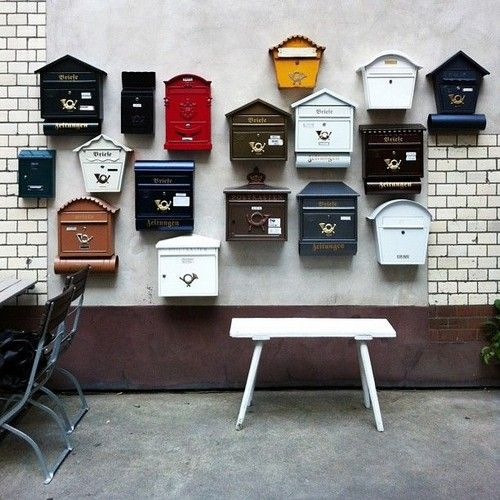 32 Awesome Apartment Mailboxes. Interiordesignshome.com
