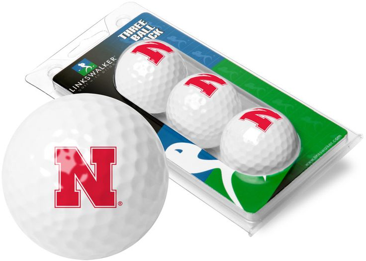 Nebraska Cornhuskers - 3 Golf Ball Sleeve