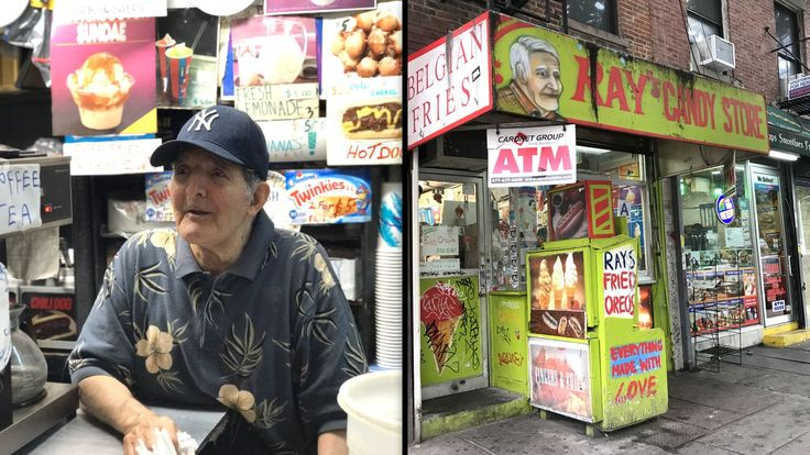 Meet the 84-year-old who's been running New York City's only 24-hour ice cream shop for decades