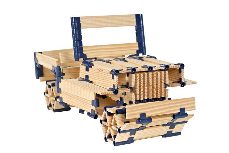 Enhance your motor skills by building with TomTecT #education #toys #kapla #blocks #homeschool