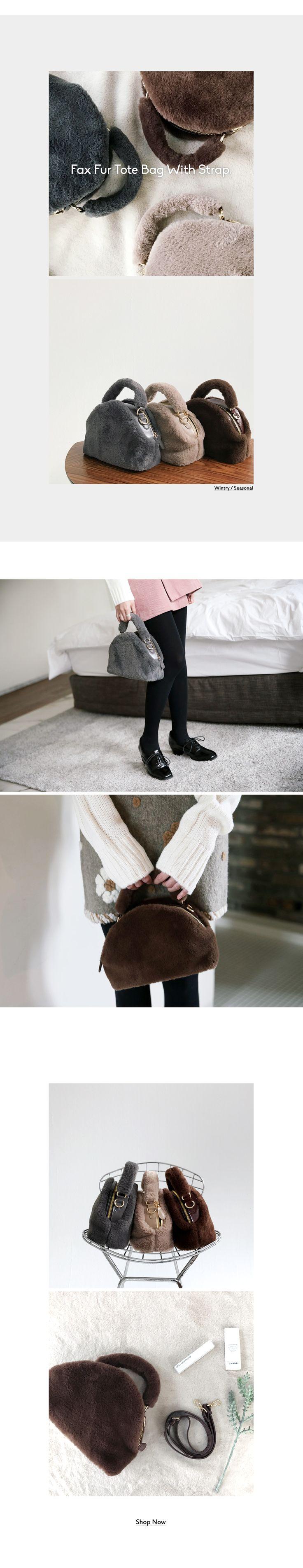2WAYフェイクファーハンドバッグ・全4色バッグバッグ|レディースファッション通販 DHOLICディーホリック [ファストファッション 水着 ワンピース]