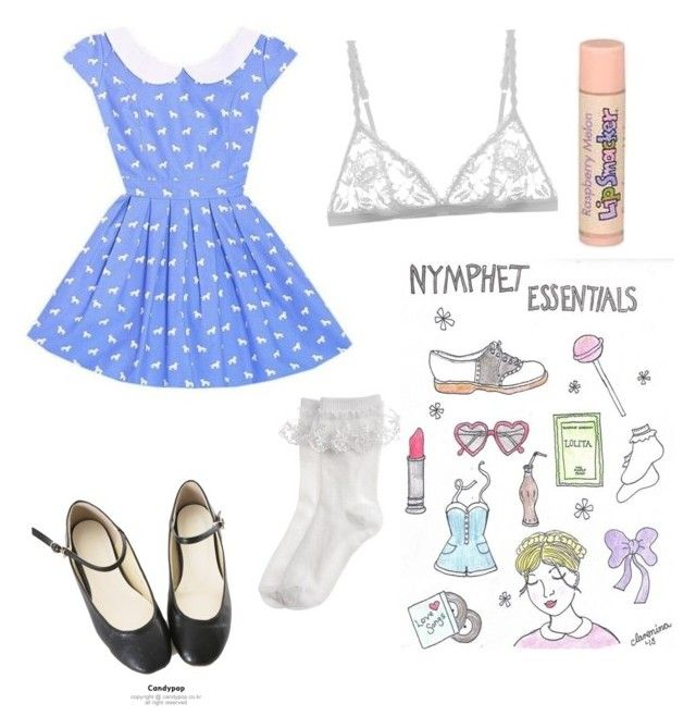 """""""Nymphet Essentials """" by sailormercurycutiepie on Polyvore featuring moda, Monsoon y Cosabella"""