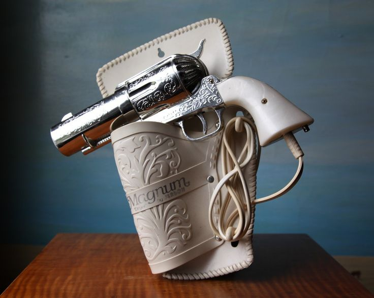 357 magnum hair dryer vintage novelty pistol hairdryer e 357 magnum and hair dryer. Black Bedroom Furniture Sets. Home Design Ideas