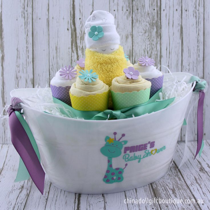 30 best baby shower and newborn gift ideas images on pinterest baby gift basket small personalised baby shower by chinadollgifts negle Choice Image