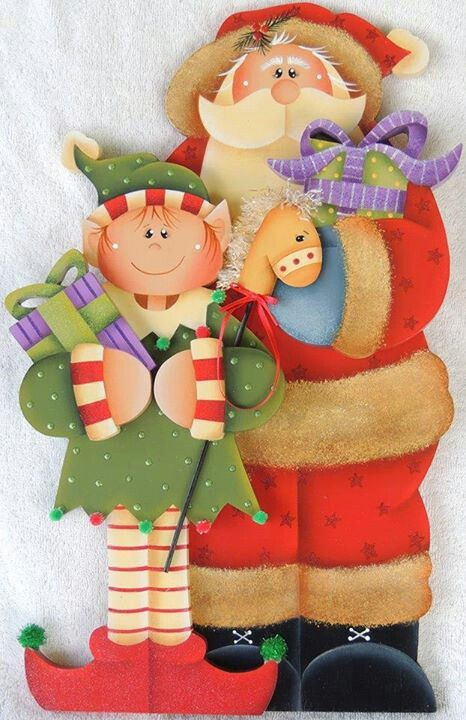 Santa con duende
