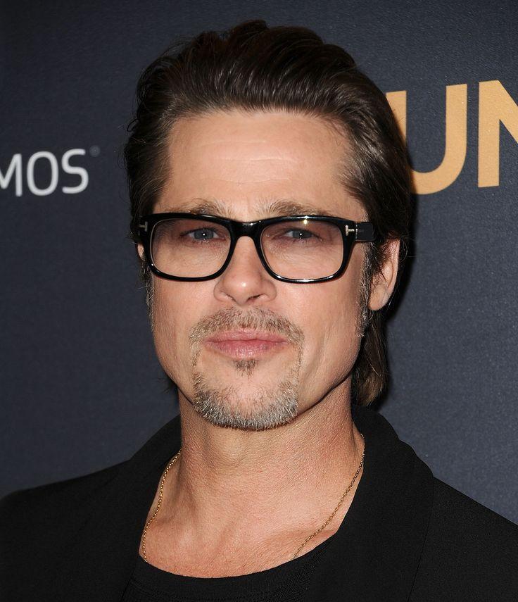 4e246bf67a Brad Pitt Eyeglasses