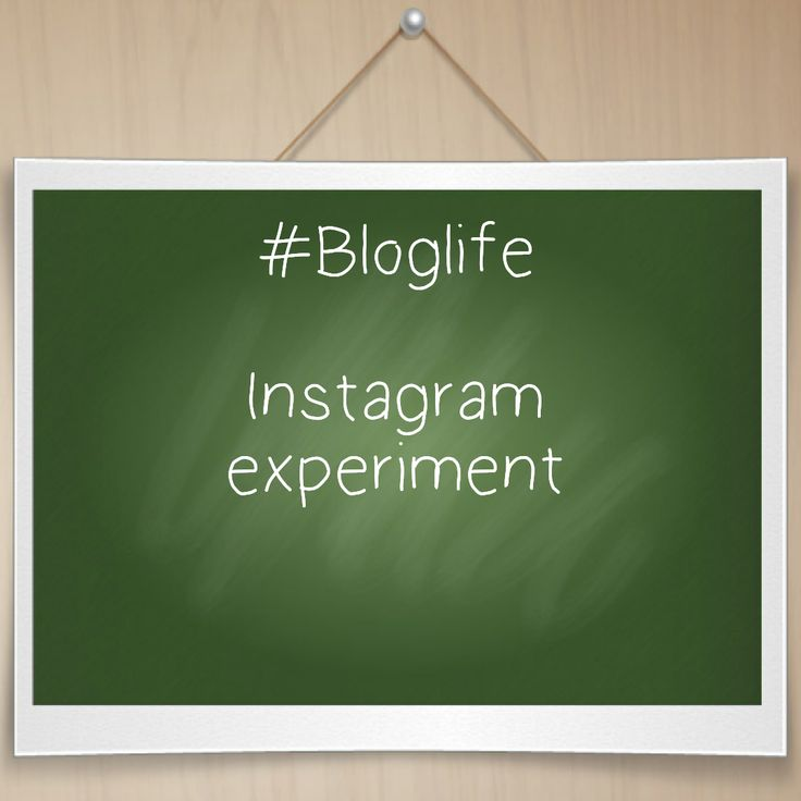 In this next post of my #BlogLife  series, I wanted to try out an Instagram experiment. This experiment was to try and gain more followers a...