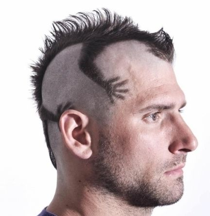Short Mohawk Hairstyles For Men Images