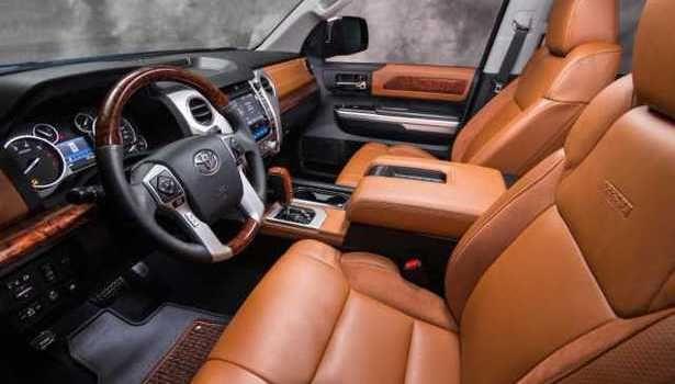2016 Toyota Tundra - interior