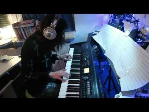 ▶ The Doors - Riders On The Storm - piano cover  by vkgoeswild