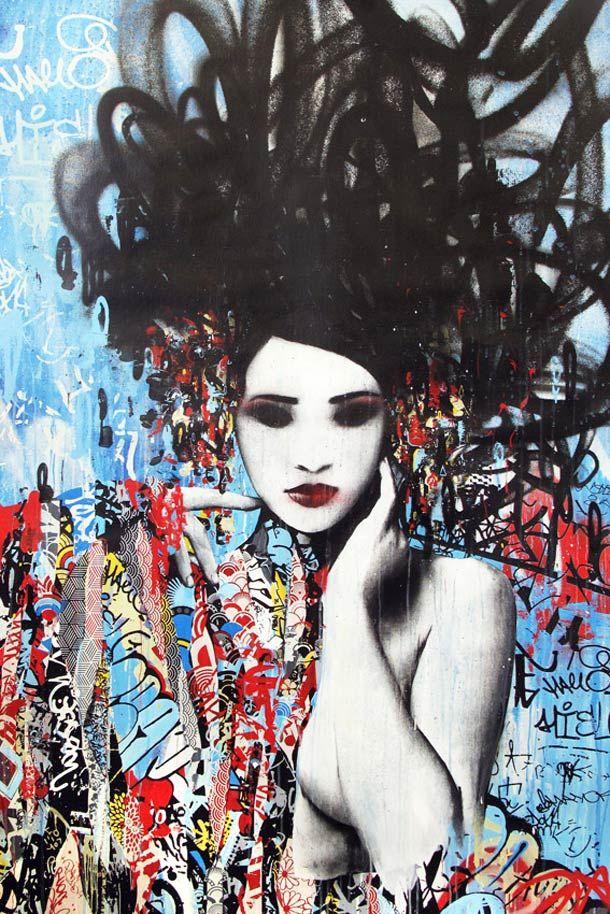 Hush: Today's Geisha: hush-geisha-street-LOVE STREET ART? CHECK  https://www.etsy.com/shop/urbanNYCdesigns?ref=hdr_shop_menu