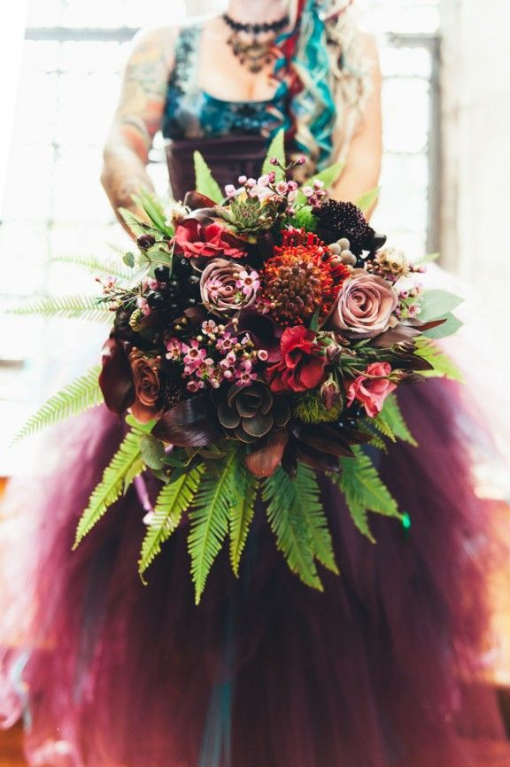 Neo-Victorian Steampunk Wedding : Jojo & Andy | Rock N Roll Bride