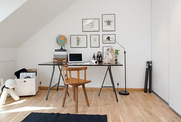 11 Exhilarating Cheap Attic Remodel Ideas Black Home Office