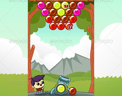 """Check out new work on my @Behance portfolio: """"Bubble Shooter Game Assets"""" http://be.net/gallery/47401971/Bubble-Shooter-Game-Assets"""