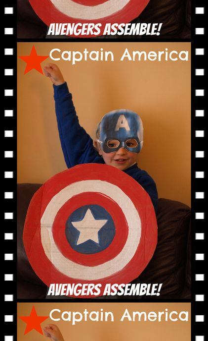 Super easy Super Hero costumes for kids from the film Avengers Assemble