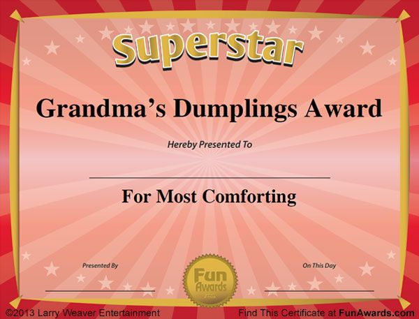 10 best Funny Award Certificates images on Pinterest Award