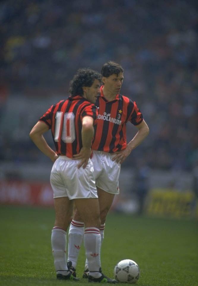 Roberto Donadoni en Marco van Basten