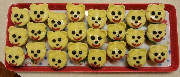 Teddy Cupcakes