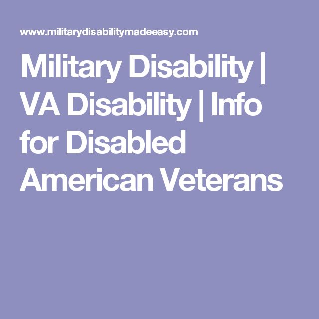 Military Disability | VA Disability | Info for Disabled American Veterans