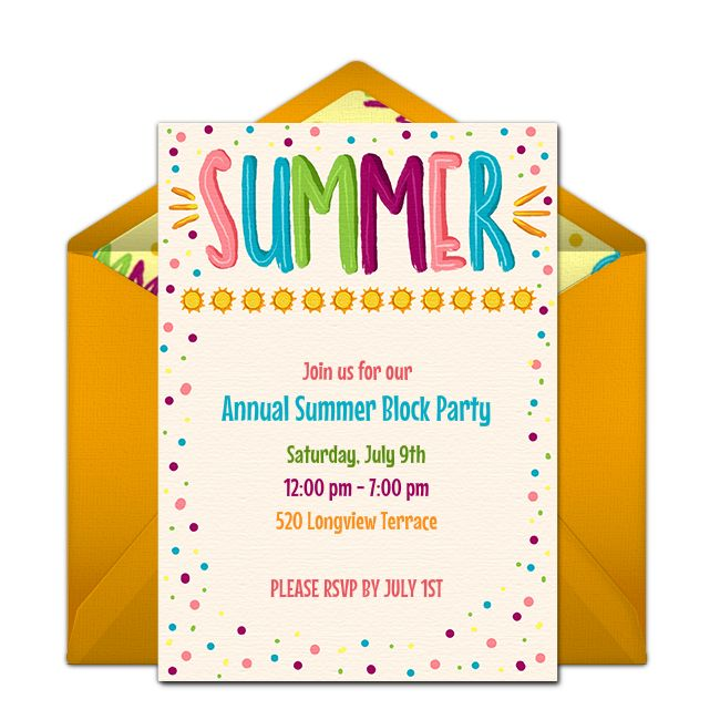 17 Best images about Free Party Invitations – Party Online Invitations