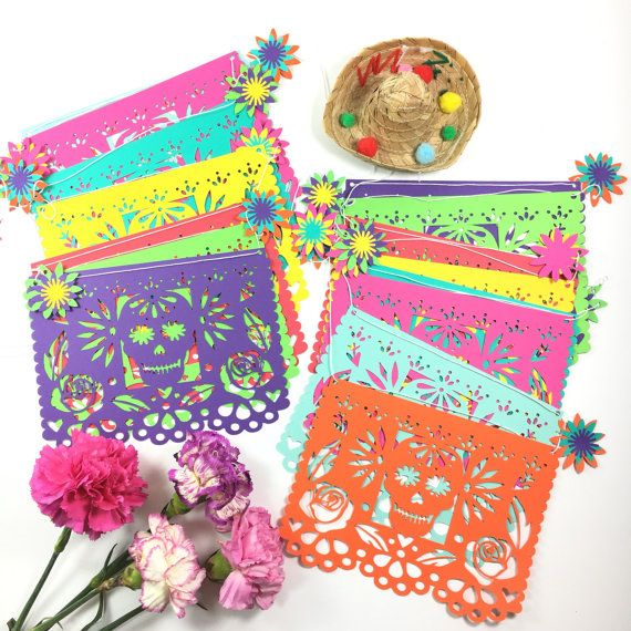 Day of the Dead Decorations Mexican Dia de los by LulaFlora
