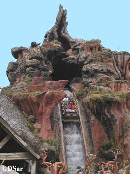 Splash Mountain...just an awesomely themed water flume ride...going to my laughing place...