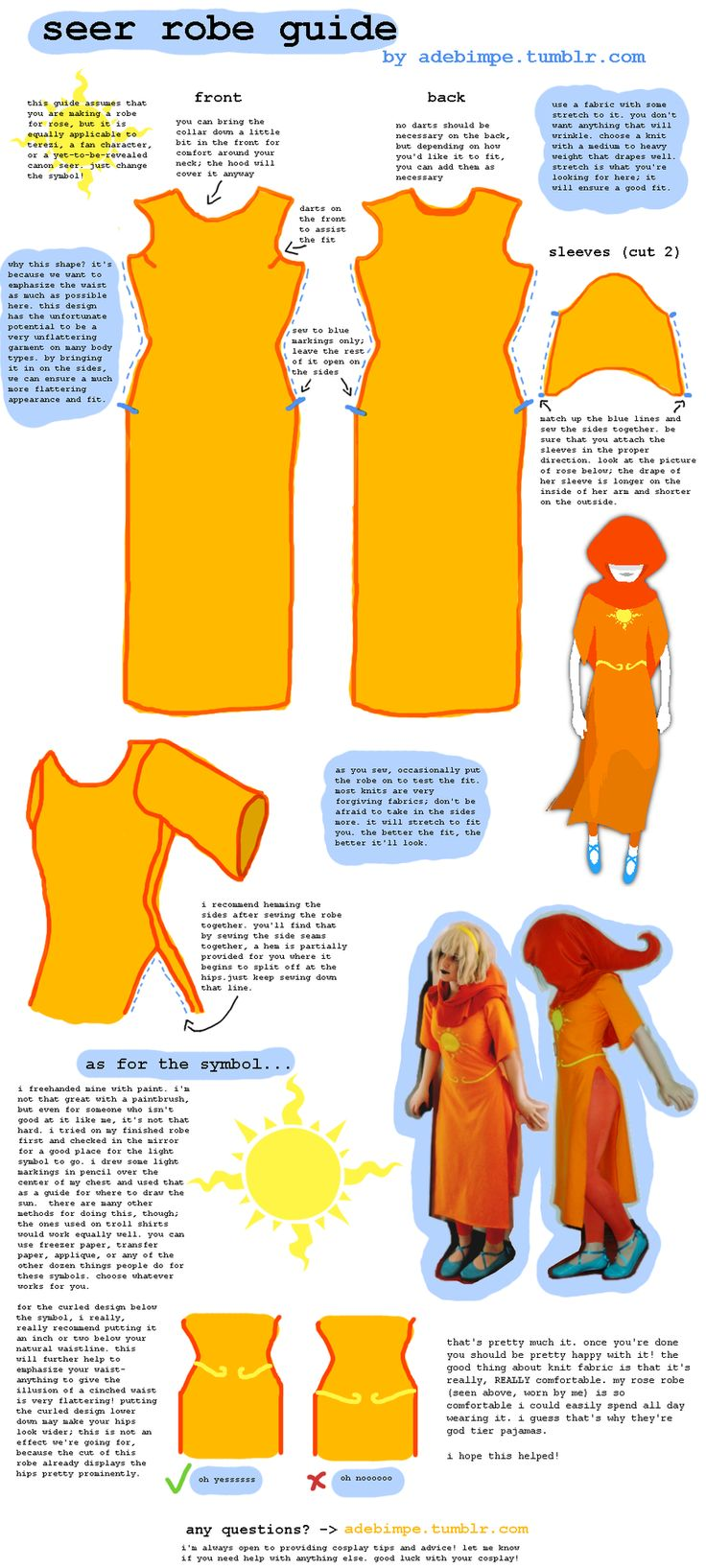 TUTORIAL: seer robe by teawisp.deviantart.com on @deviantART (This could probably be modified for other God tiers)