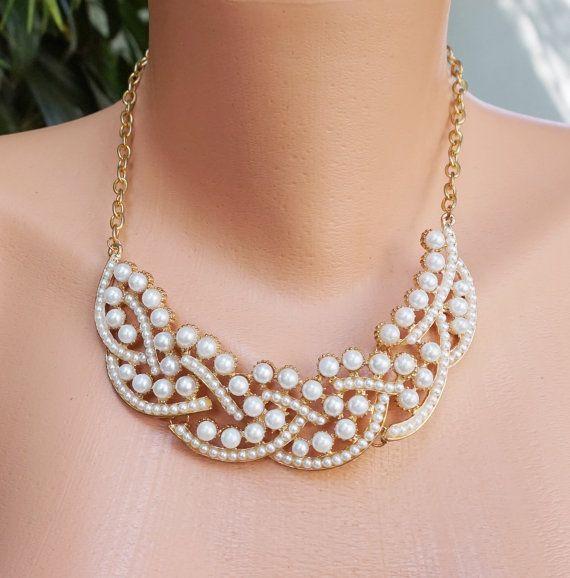 21 Best Statement Necklace Images On Pinterest: 25+ Best Ideas About Pearl Statement Necklace On Pinterest