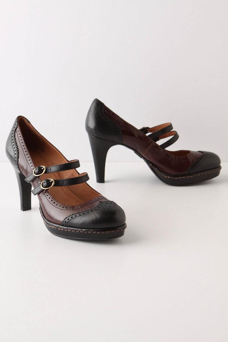 Schuler Shoes Black Oxfords