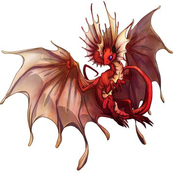fae dragon | Flight Rising Skin: Female Fae Dragon by sqbr on deviantART