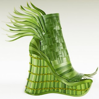 """Veggie Wedge'.  """"Wear this delictable design to a garden party fiesta or tasty tailgate."""""""