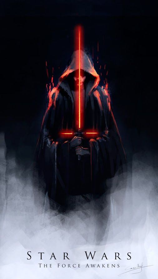 Star Wars: The Force Awakens Not sure how I feel about this new lightsaber.