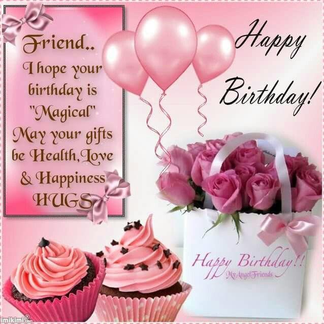 Best 25 Happy birthday friend ideas – Greetings on Birthday
