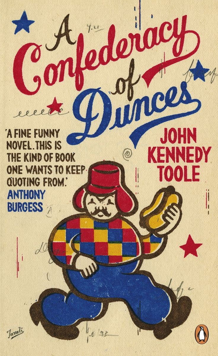 A Confederacy of Dunces by John Kennedy Toole, design by Gary Taxali (Penguin 2011)