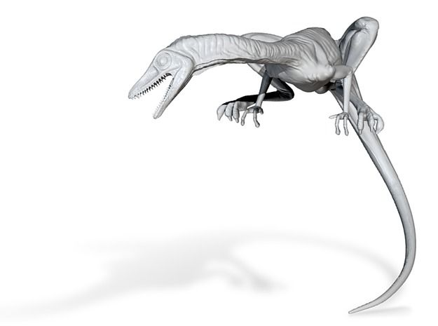 Compy dinosaur desktop figurine by vfxguy'
