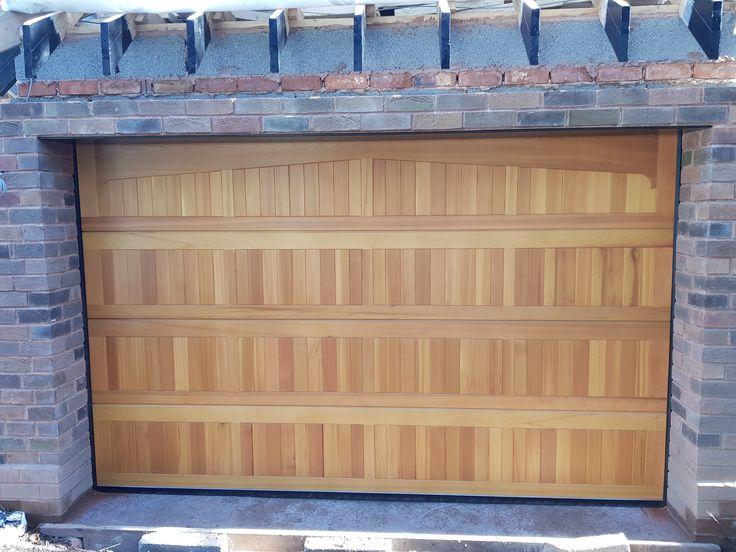 Cedar | Garage doors for sale, Garage door installation ...