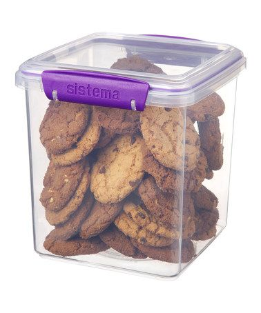 Take a look at this Purple Cookie Tub by Sistema on #zulily today!
