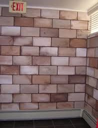 Concrete Block Interior Wall Paint Basement Cinder Block